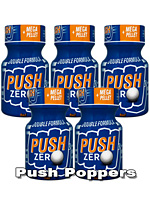 5 x PUSH ZERO pequeño - PACK