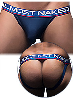 Andrew Christian - Almost Naked Sports & Workout Jock - Navy
