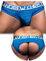 Andrew Christian - Almost Naked Electric Locker Room Jock - Azul