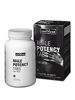 CoolMann Male Potency Tabs - 60 comprimidos