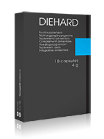 DIEHARD Blue - 10 Cápsulas