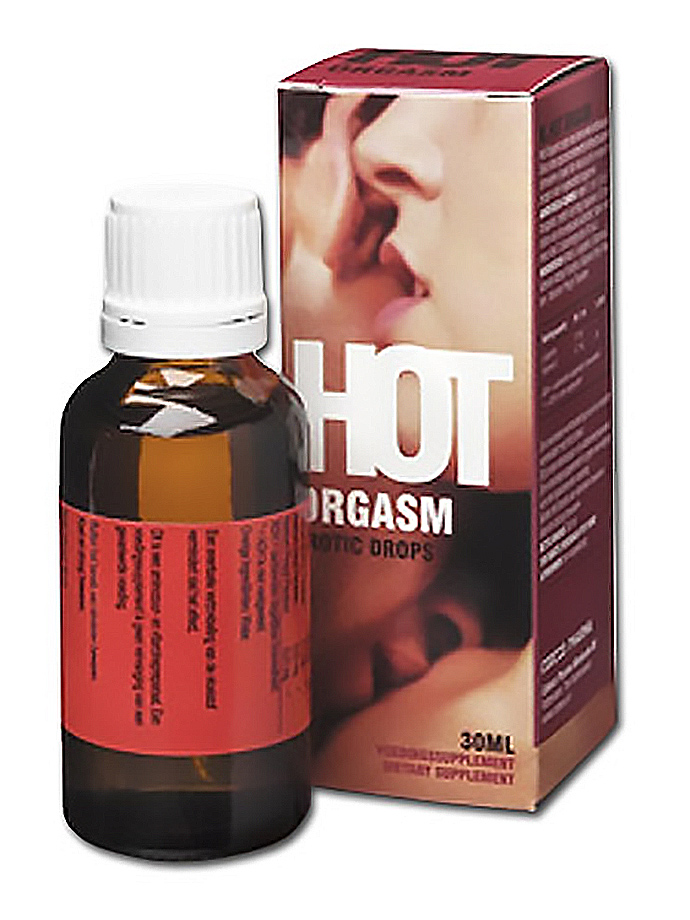 Hot Orgasm Erotic Drops - 30 ml