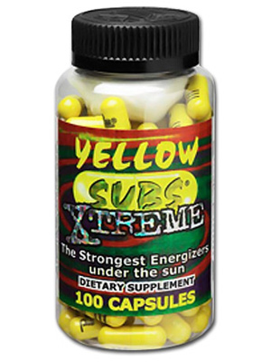 Yellow Subs Xtreme - 100 caps