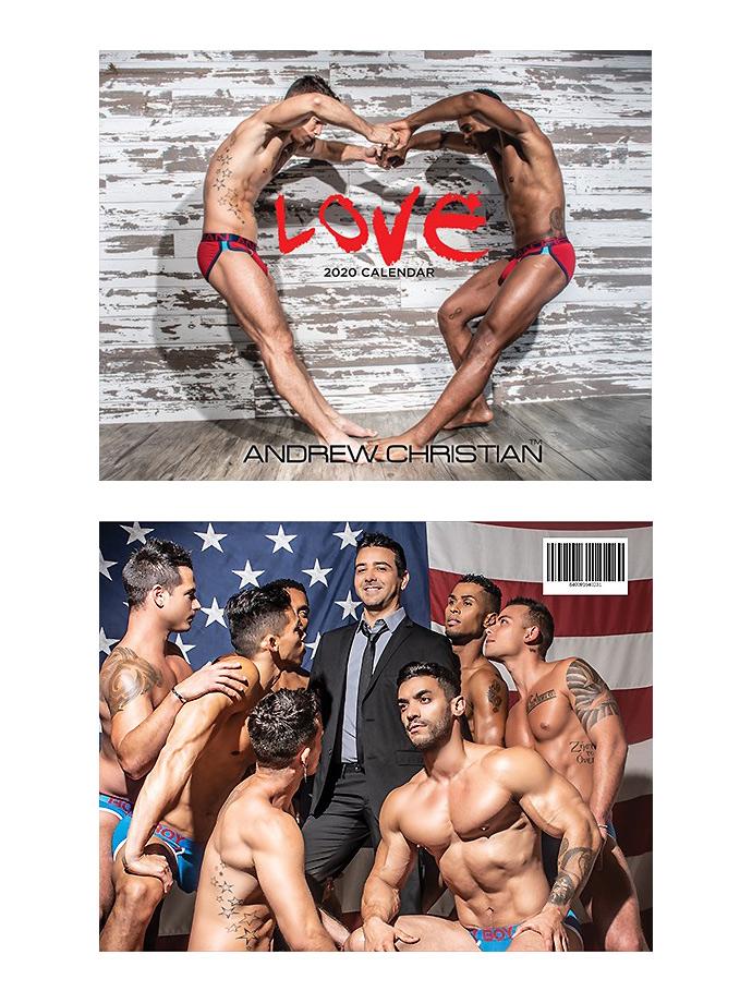 Andrew Christian - Gay Love Calendar 2020