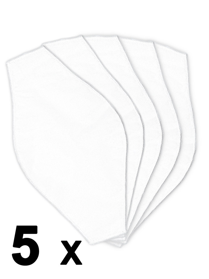 Barcode Berlin - 5 pieces D12 Filters for Face Mask