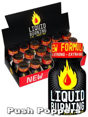 BOX LIQUID BURNING small - 18 x