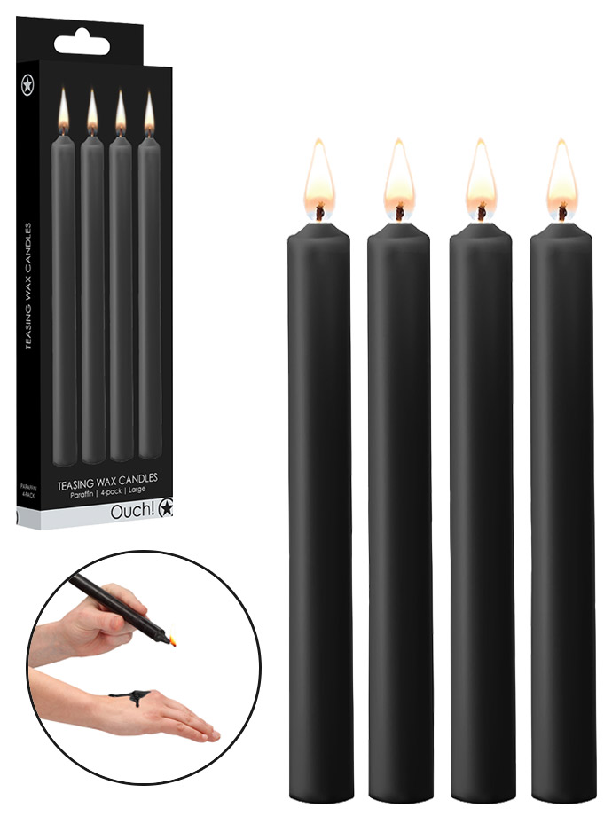 Ouch! Teasing Wax Candles - Large