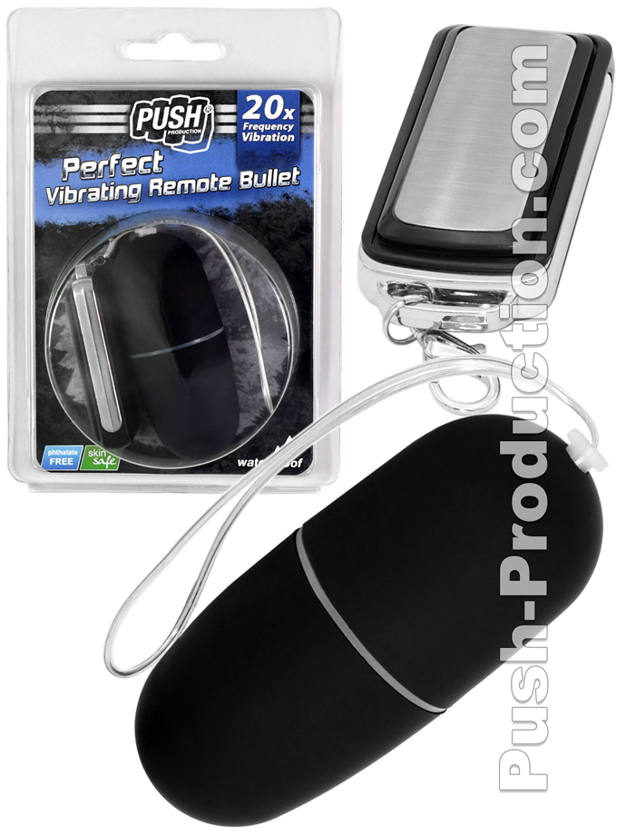 20 Function Perfect Vibrating Remote Bullet