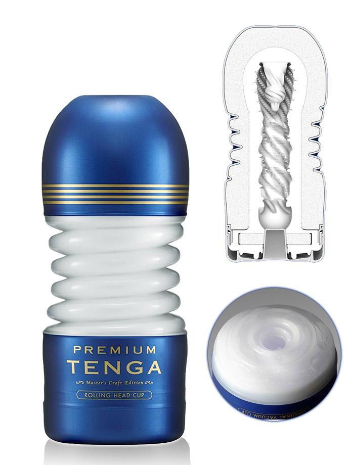 Tenga Premium - Rolling Head Cup