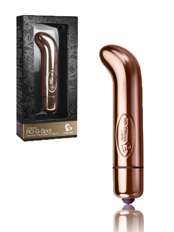 10 Speed RO-G-SPOT Vibrator - rose gold