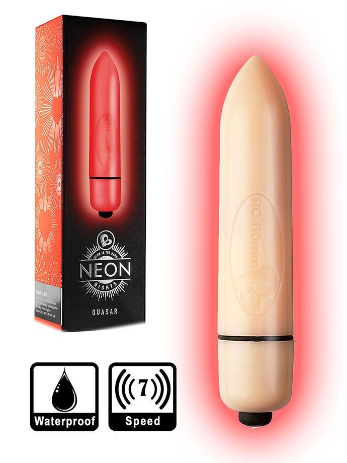7 Speed RO-80mm Neon Nights - Red Quasar