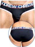 Andrew Christian - Almost Naked Cotton Brief - Navy