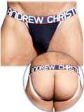 Andrew Christian - Almost Naked Cotton Jock - Navy