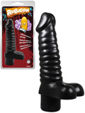 Rubicon - Vibrating Sugar 7.9 inch Black